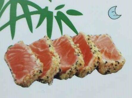 Tataki de salmón: Carta de DANI LIU