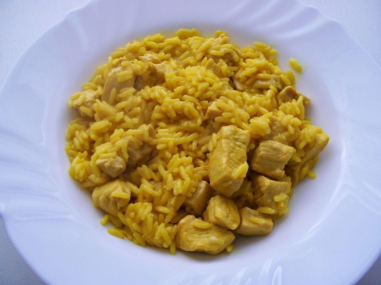 Arroz con curry: Carta de DANI LIU