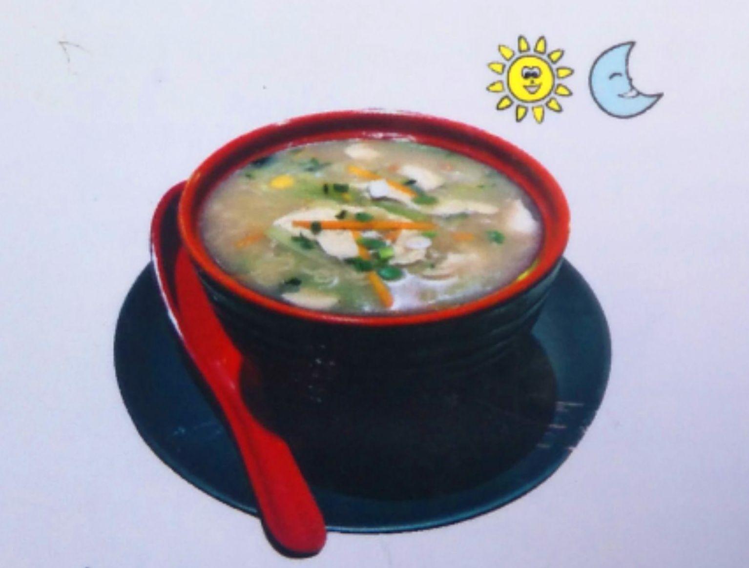 Sopa de fideos y pollo: Carta de DANI LIU