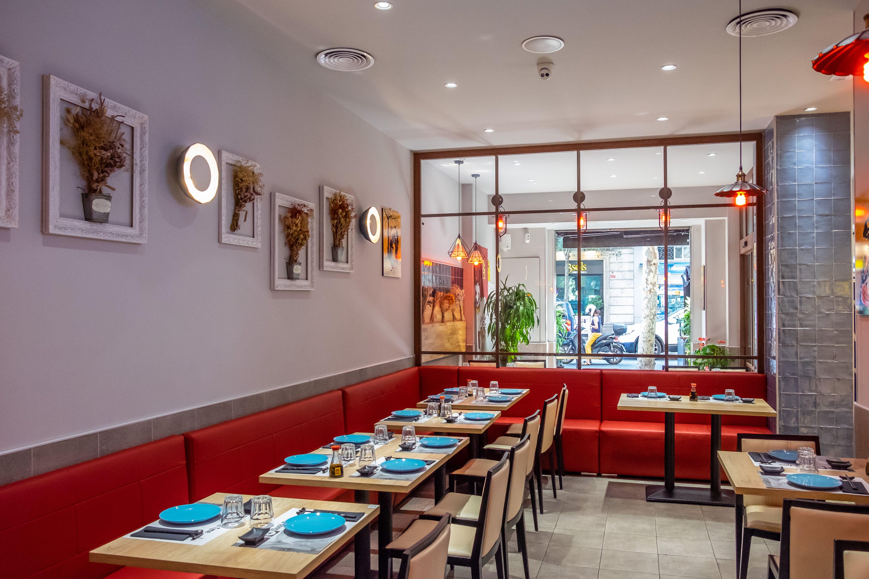 Awesome Foto 7 De Restaurante Buffet Libre En Dani Liu Interior Design Ideas Clesiryabchikinfo