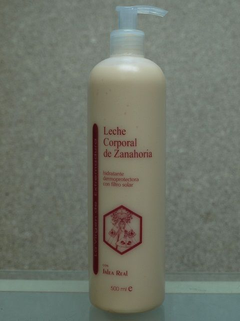 Cosmética corporal de Zanahoria