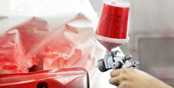 Trabajos de pintura del automóvil