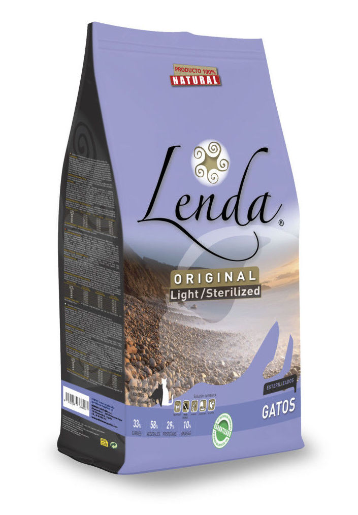Lenda Nature Original Gato Pollo Sterilized