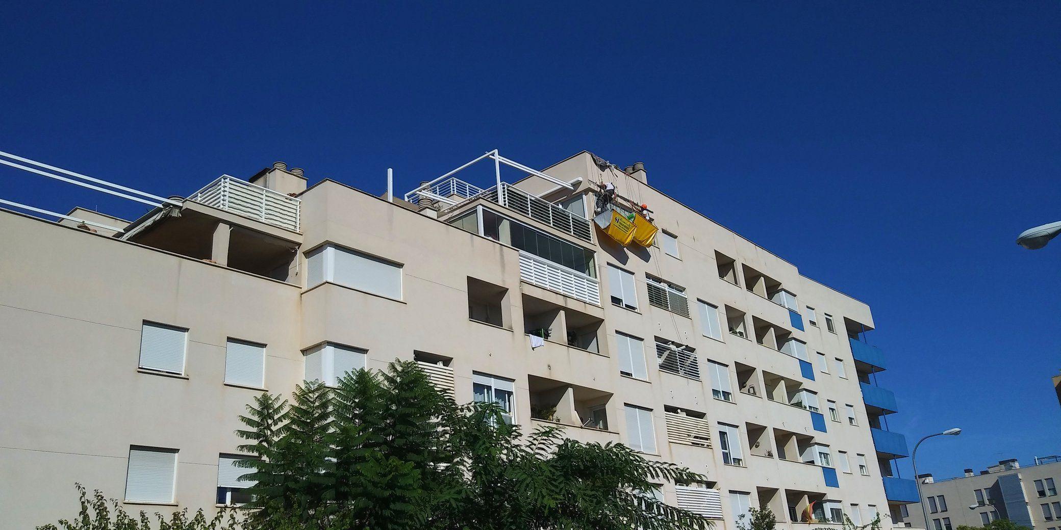 Foto 23 de Trabajos verticales en Palma de Mallorca   Trabajos Verticales Florinity