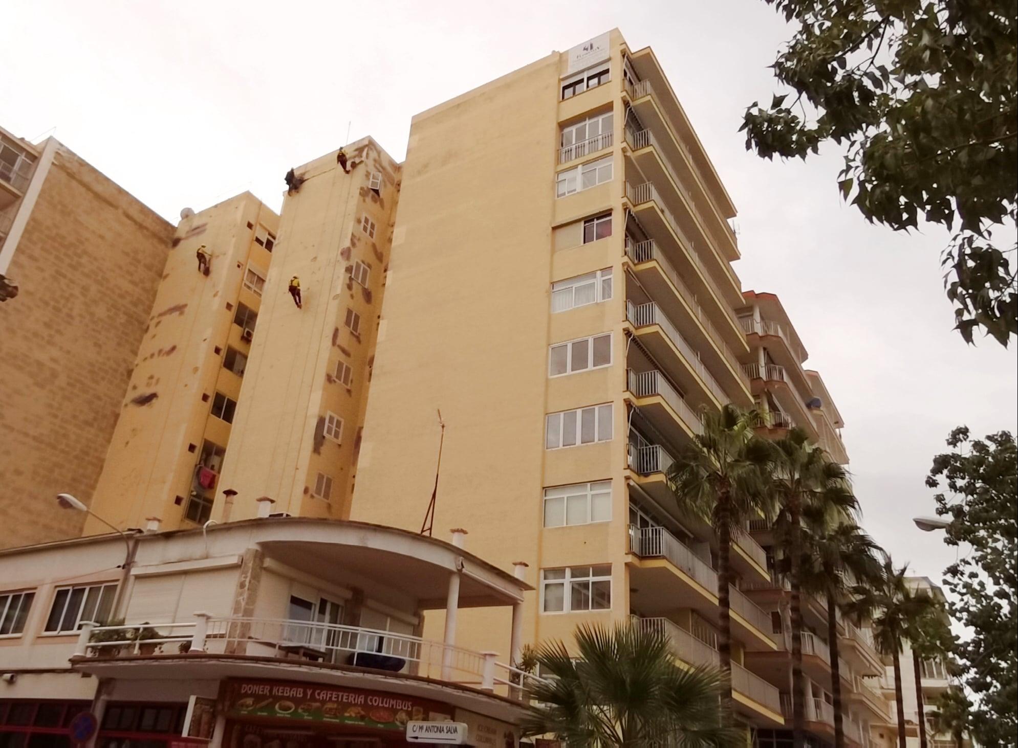 Rehabilitación de fachada Mallorca