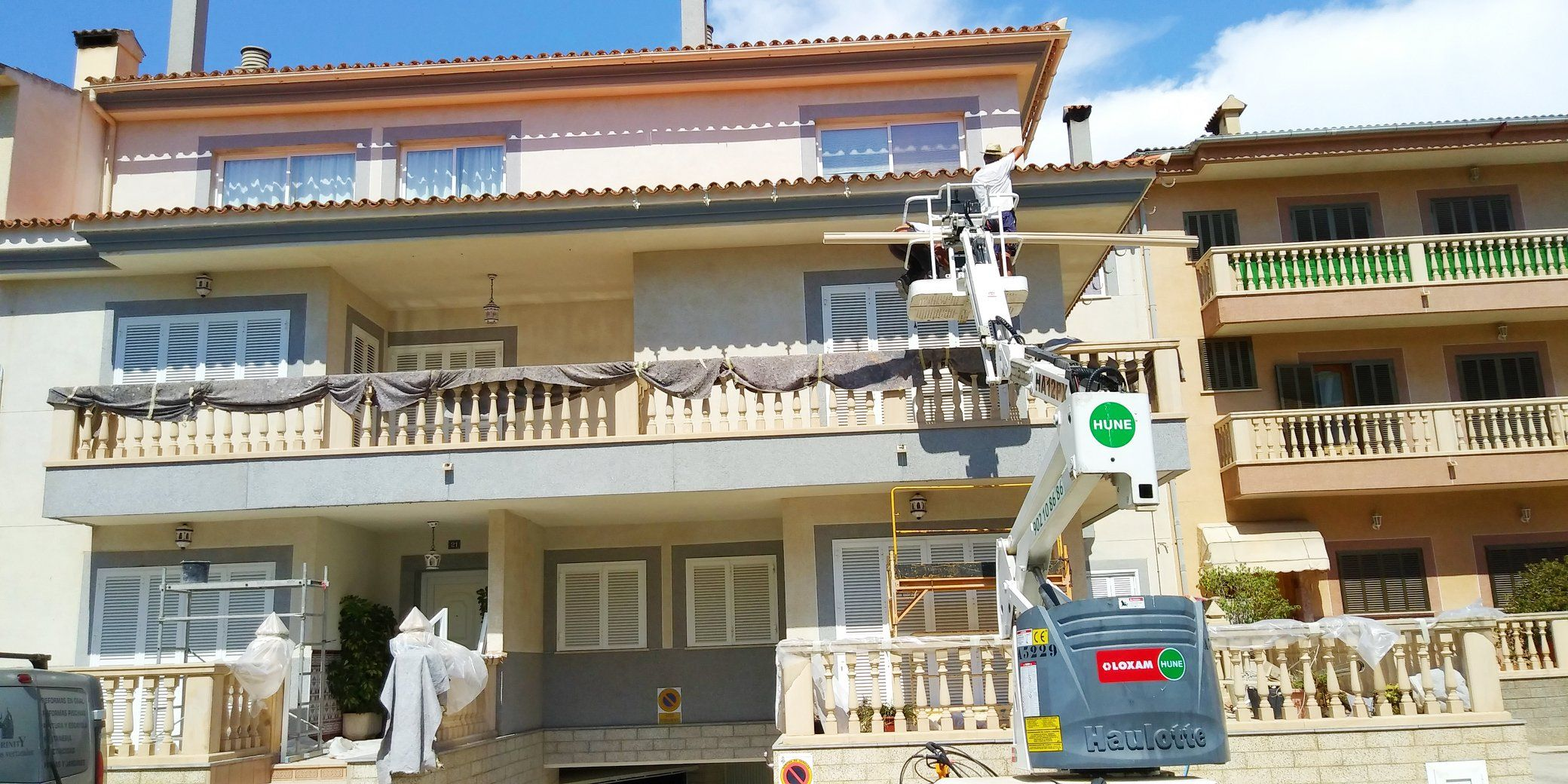Foto 40 de Trabajos verticales en Palma de Mallorca | Trabajos Verticales Florinity