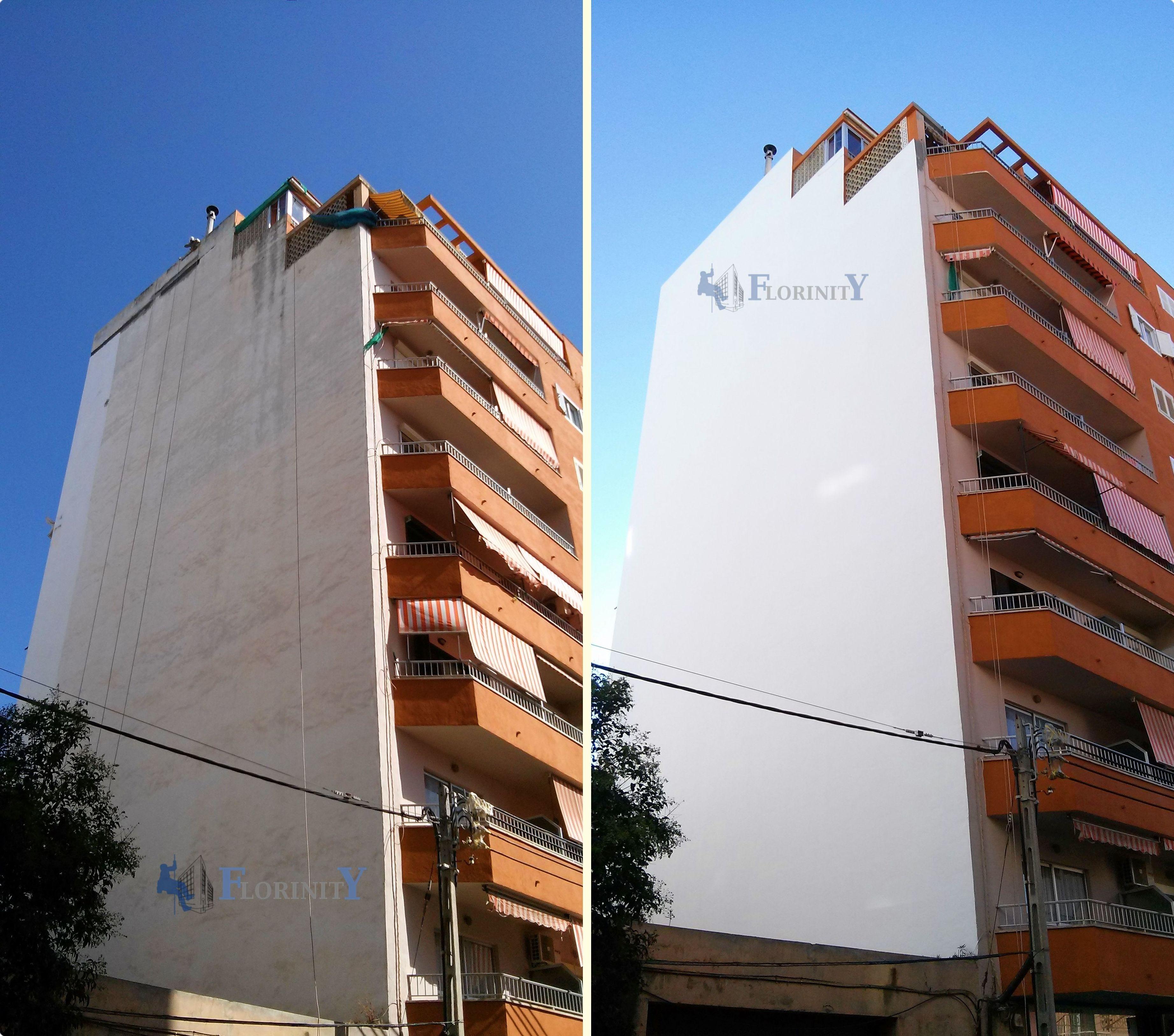 Rehabilitación de fachadas sin andamios en Mallorca