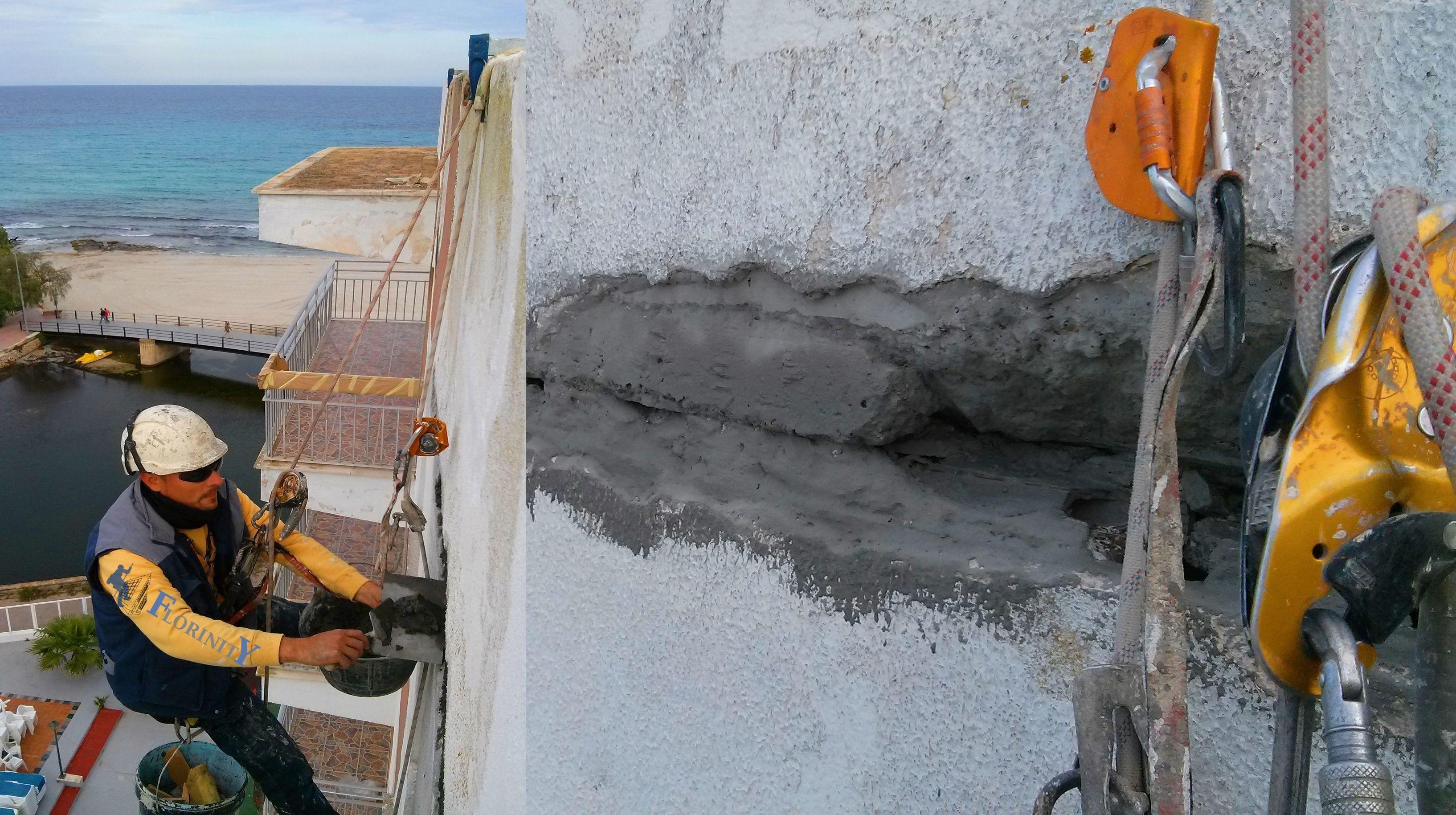 Foto 126 de Trabajos verticales en Palma de Mallorca | Trabajos Verticales Florinity