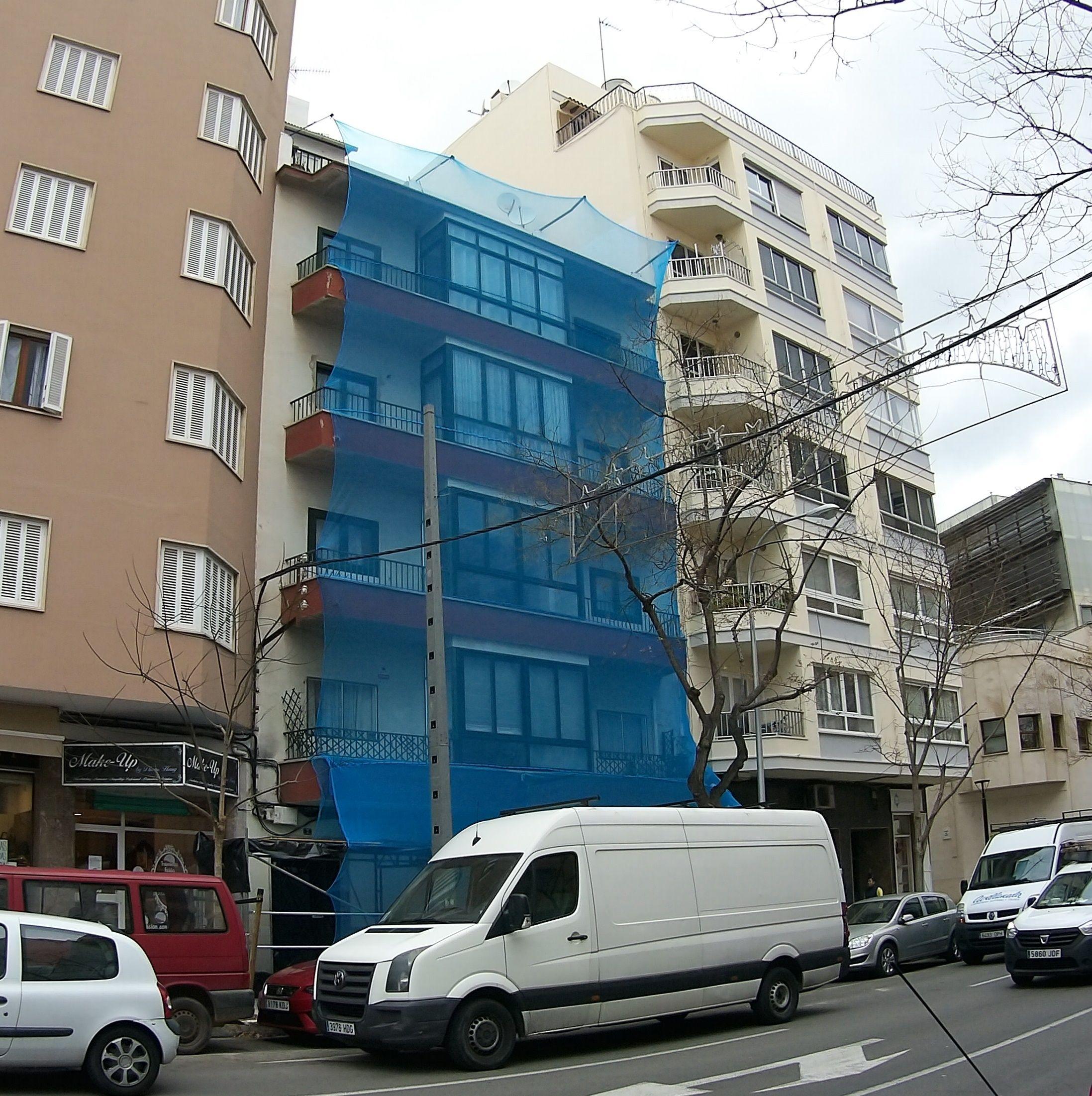 Rehabilitación de fachadas: Servicios de Trabajos Verticales Florinity