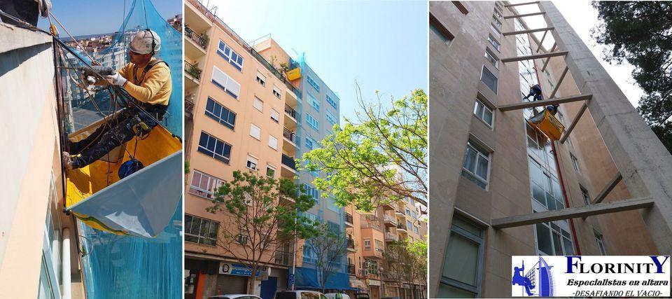 Foto 51 de Trabajos verticales en Palma de Mallorca | Trabajos Verticales Florinity