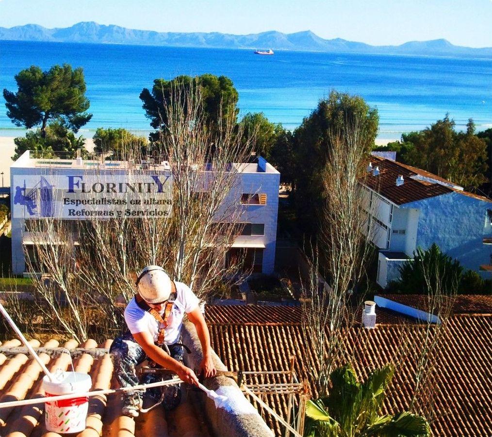Trabajos en altura y trabajos de difícil acceso en Palma de Mallorca