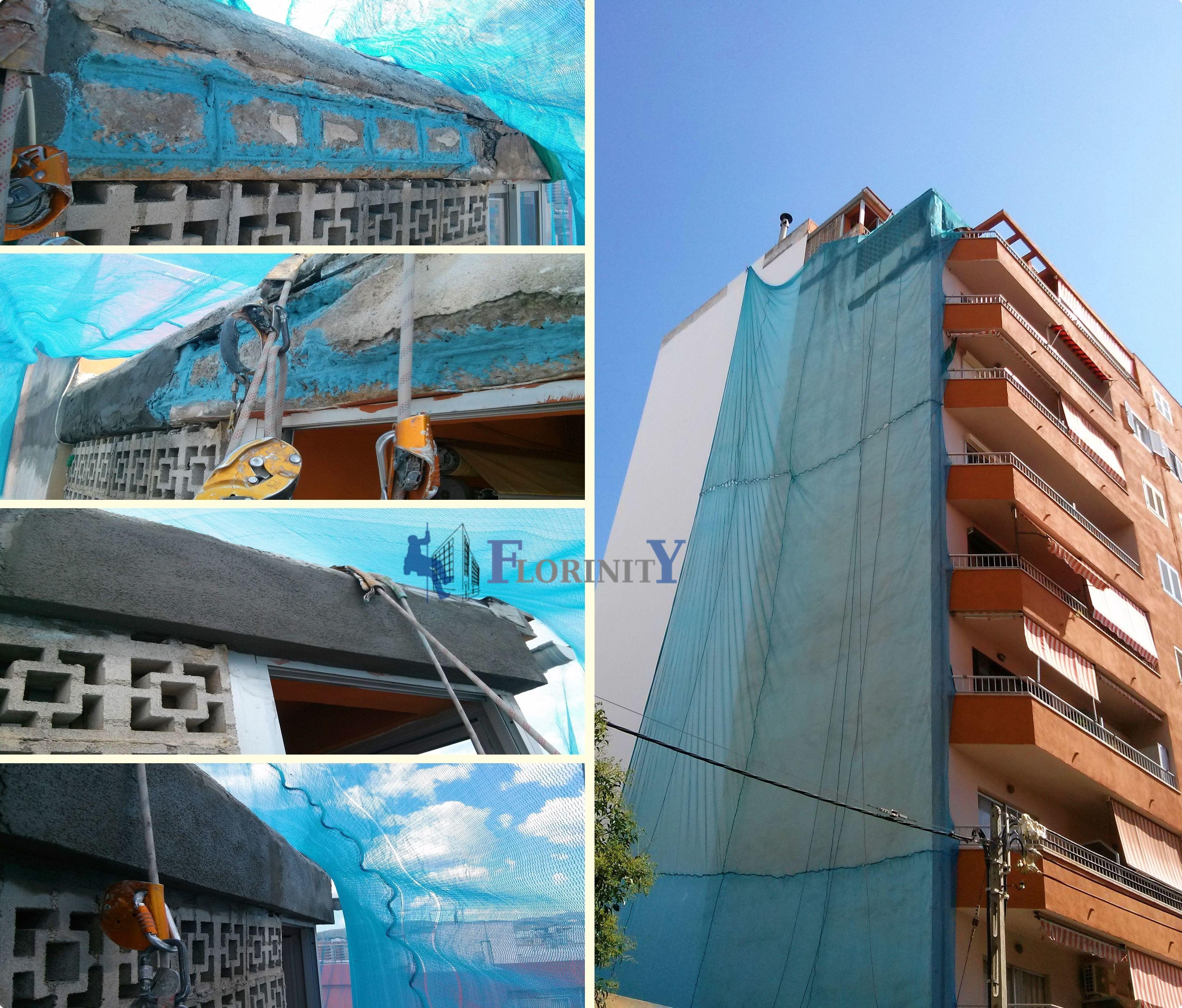 Empresa de trabajos verticales en Mallorca