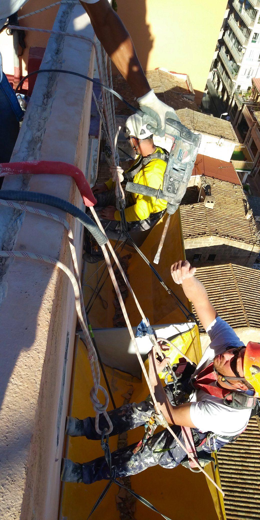 Foto 33 de Trabajos verticales en Palma de Mallorca | Trabajos Verticales Florinity