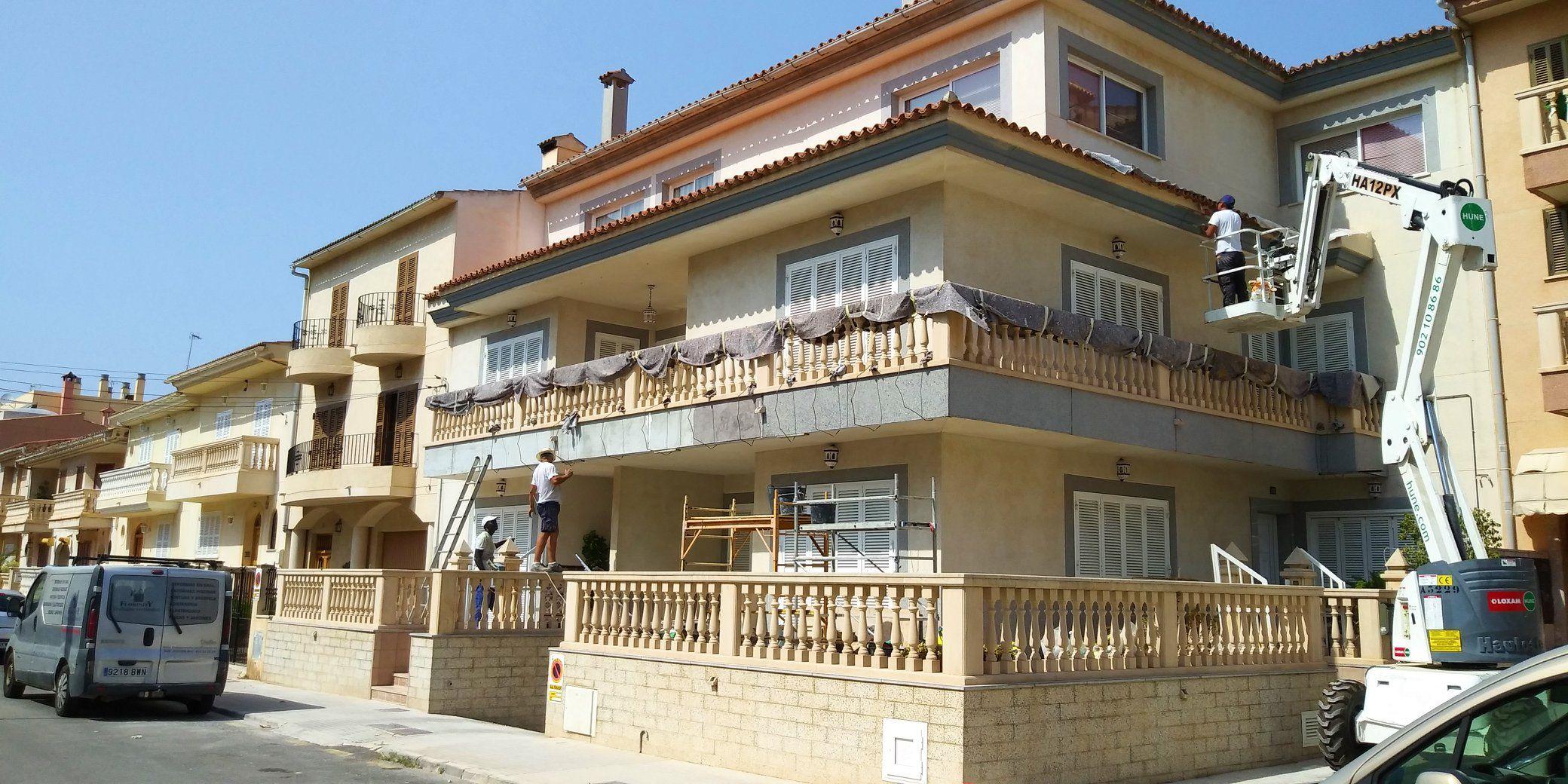 Foto 38 de Trabajos verticales en Palma de Mallorca   Trabajos Verticales Florinity