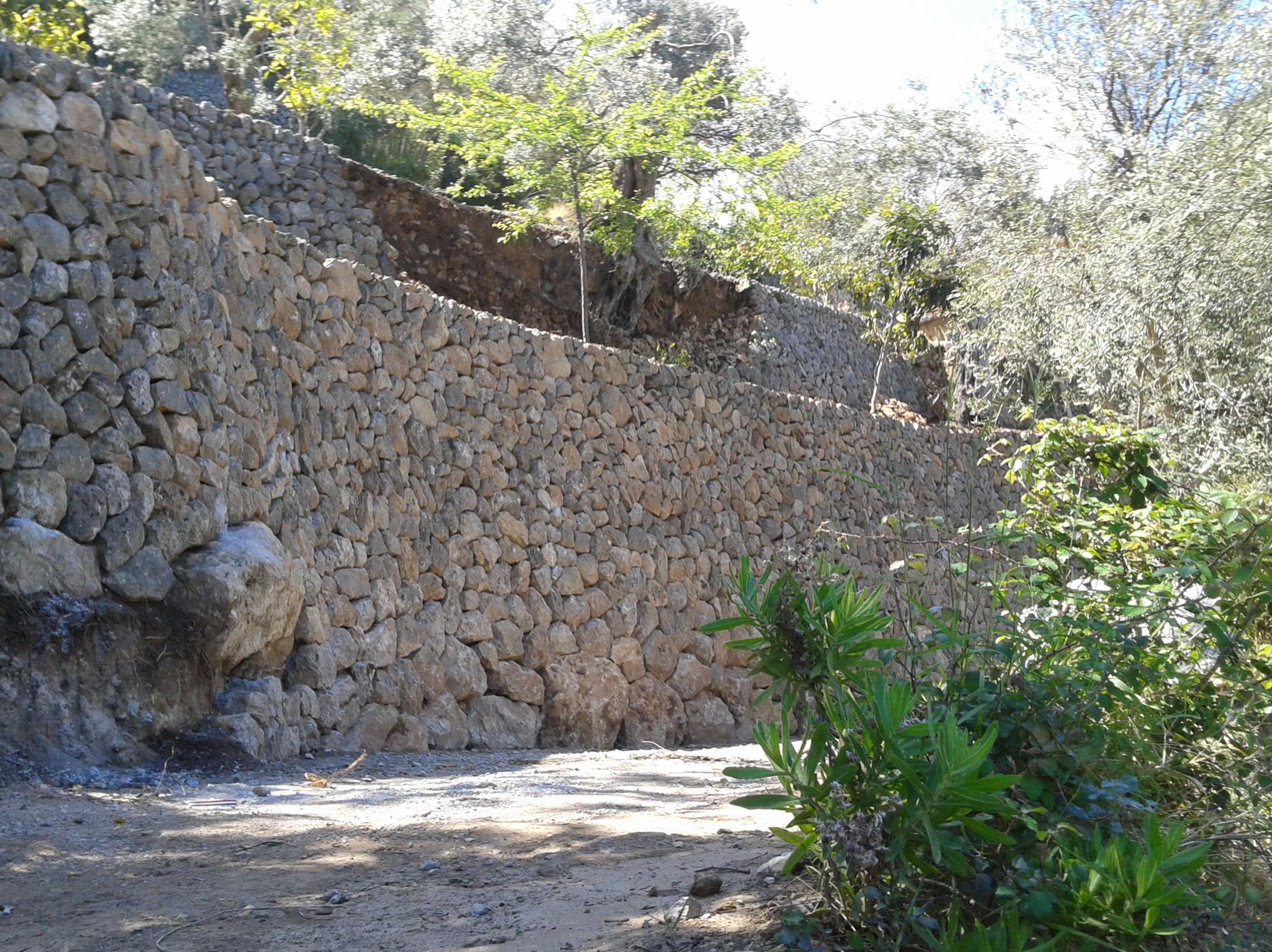 Cierres de piedra