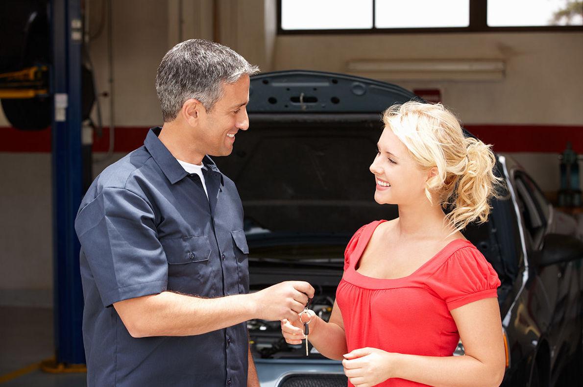 Servicio de recogida y entrega del vehículo a domicilio gratuita