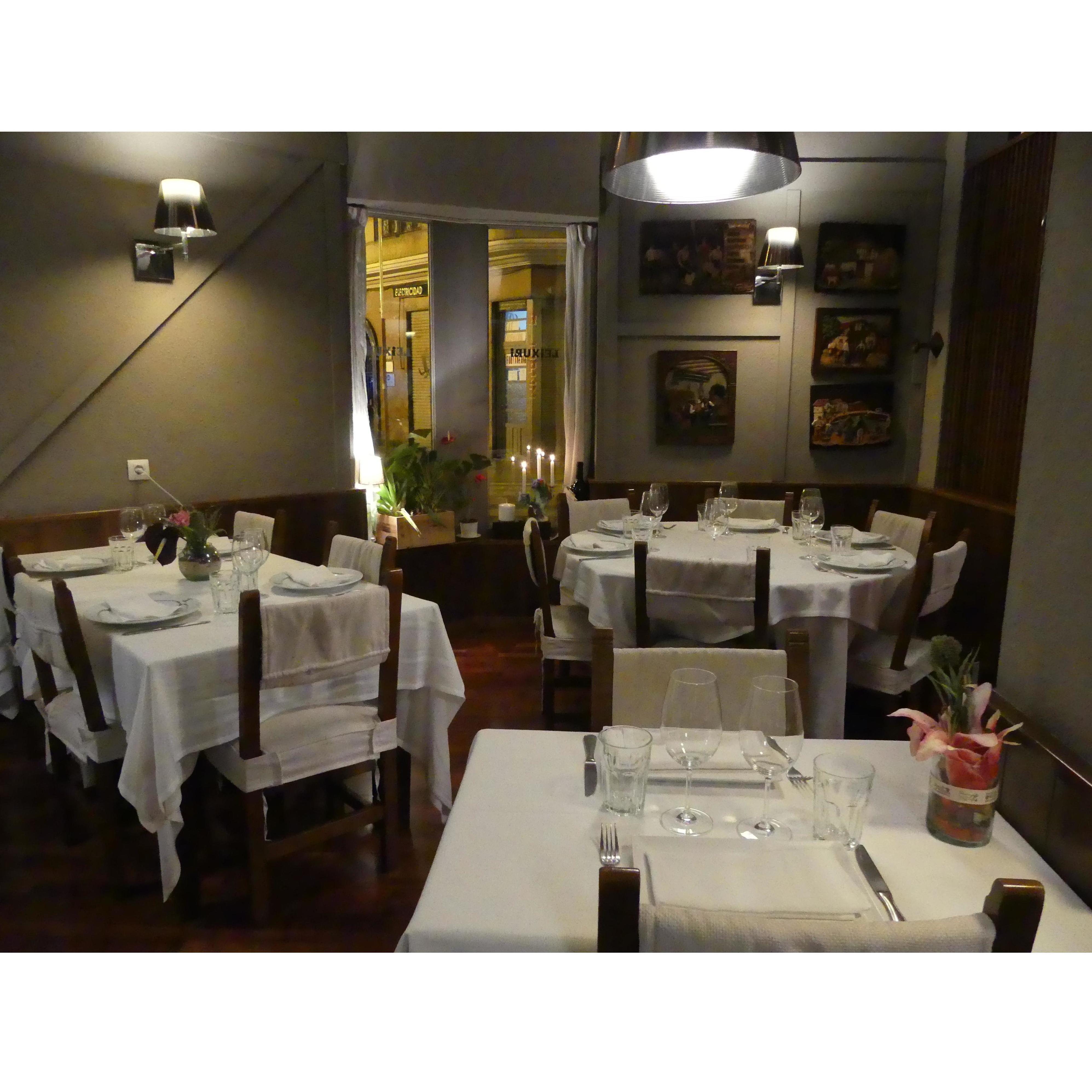 Menú diario: ALGO DE NUESTRA CARTA.... de Restaurante Leixuri