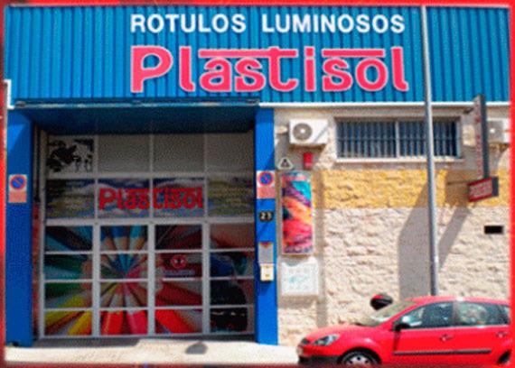 Foto 1 de Rotulación y señalización en Huércal de Almería | Luminosos Plastisol