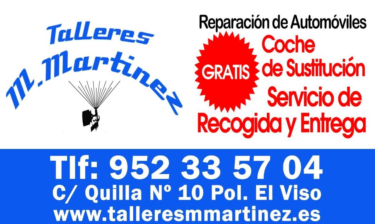 Foto 3 de Talleres de chapa y pintura en  | Talleres Martínez Málaga