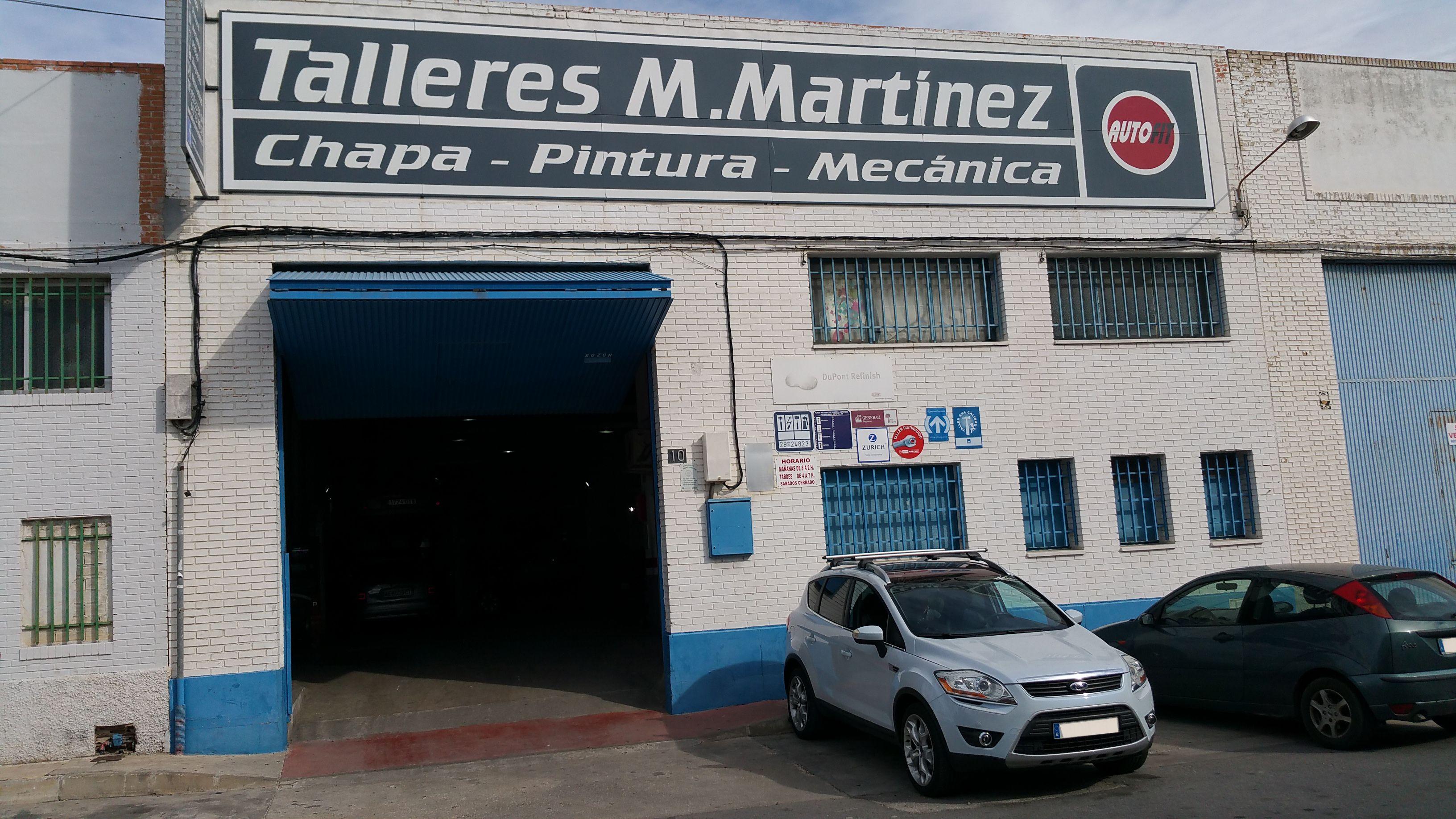 Foto 2 de Talleres de chapa y pintura en  | Talleres Martínez Málaga