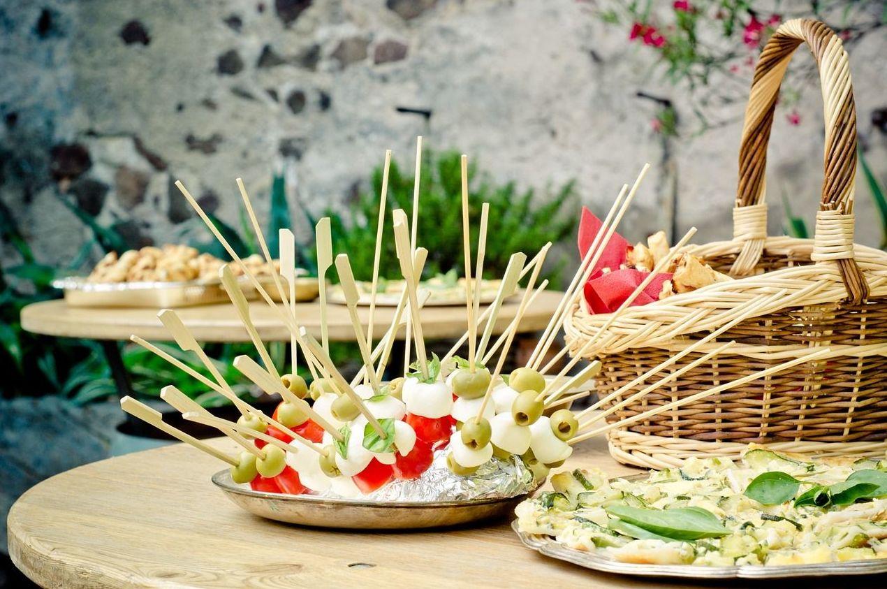 Catering de comida vegana