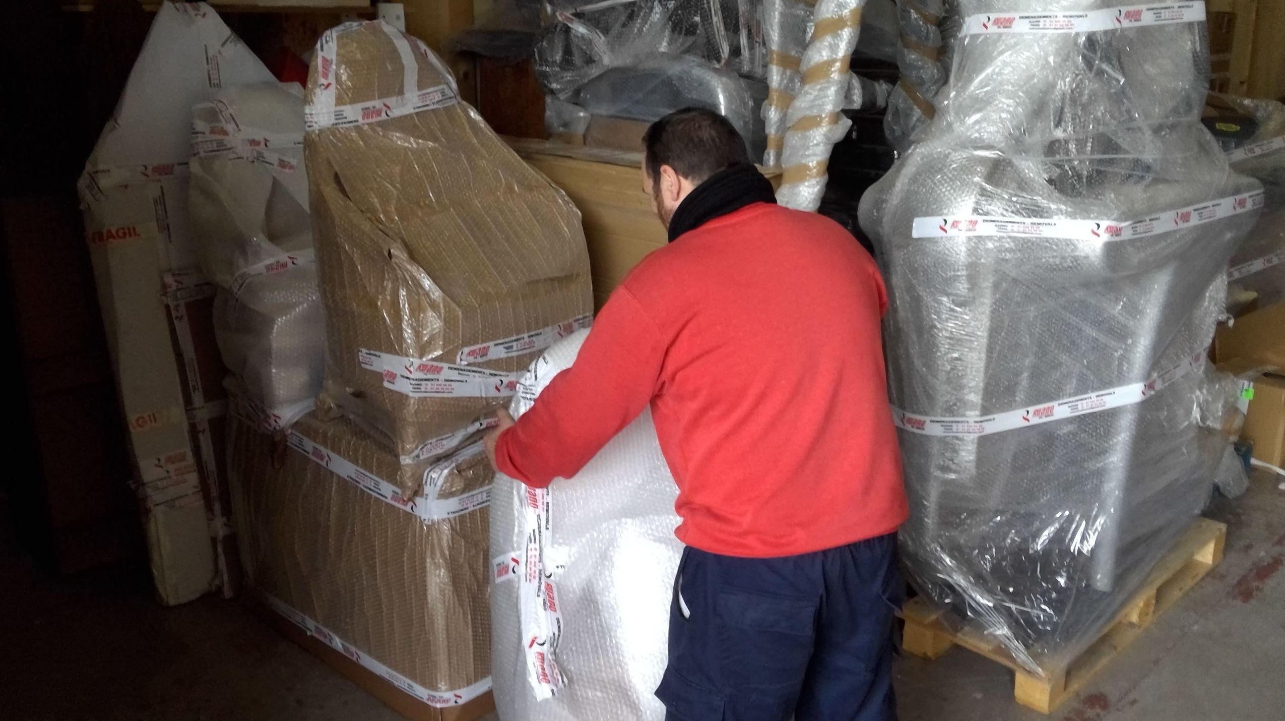 Foto 2 de Mudanzas y guardamuebles en Colmenar Viejo | Mudanzas Ruano