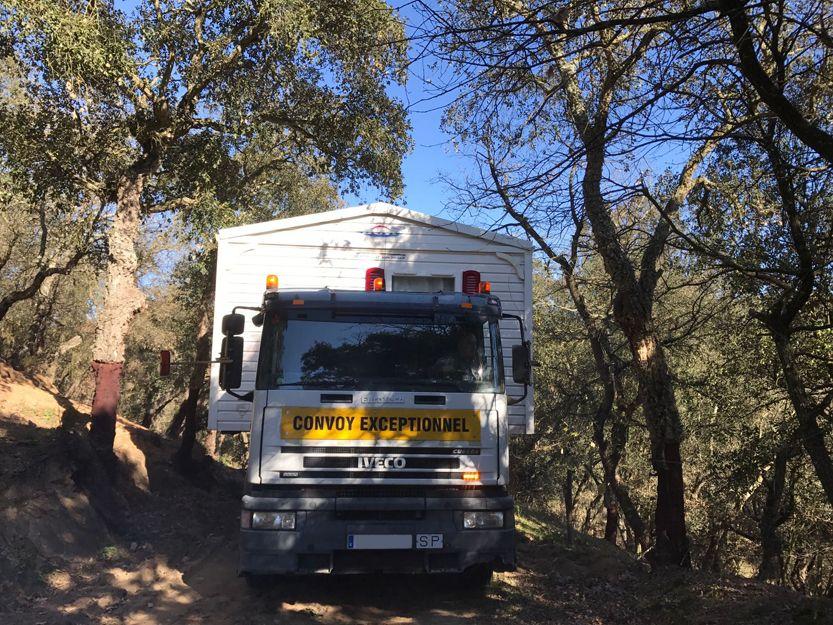 Transporte de mobile home en Girona y Barcelona