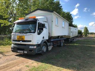 Transporte e instalación de mobile home en Girona y Barcelona
