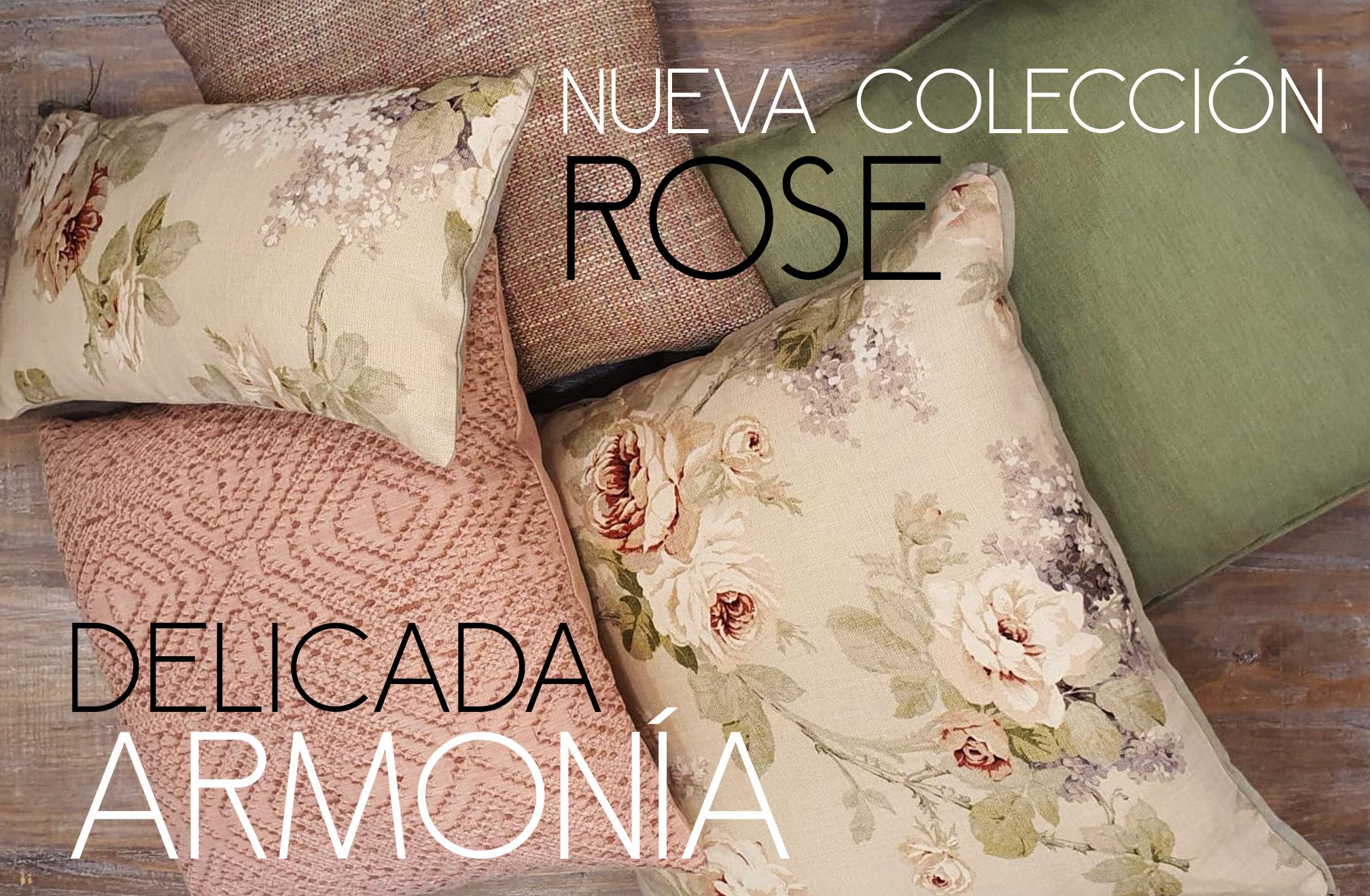 Colección Cojines Rose: COLECCIONES de Casa Nativa
