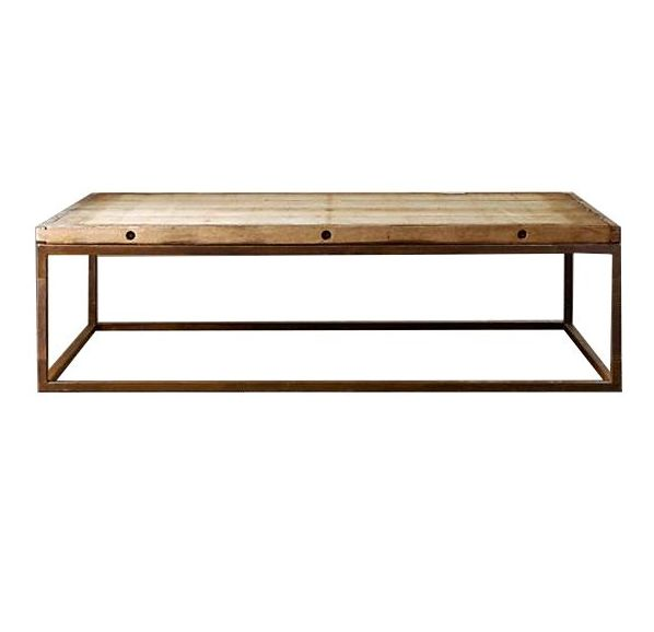 Mesa Centro madera reciclada