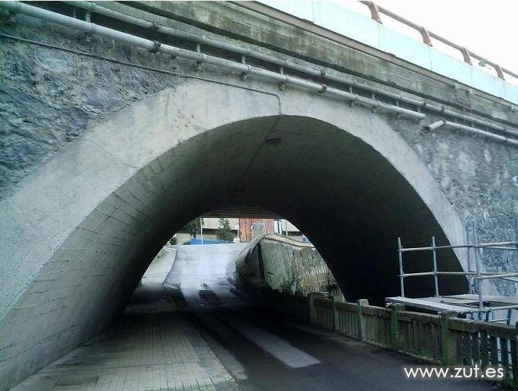 Concrete repair in Bizkaia