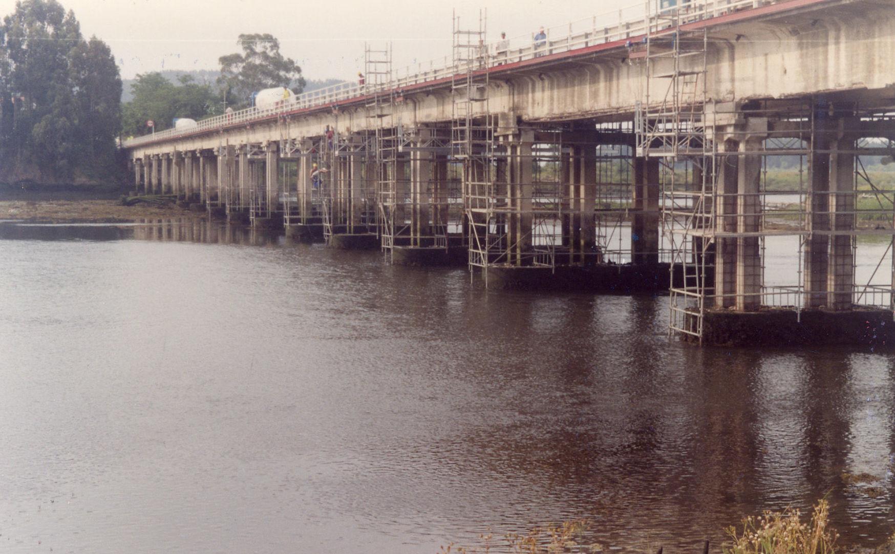 Concrete repair: Services de Trabajos Especiales ZUT