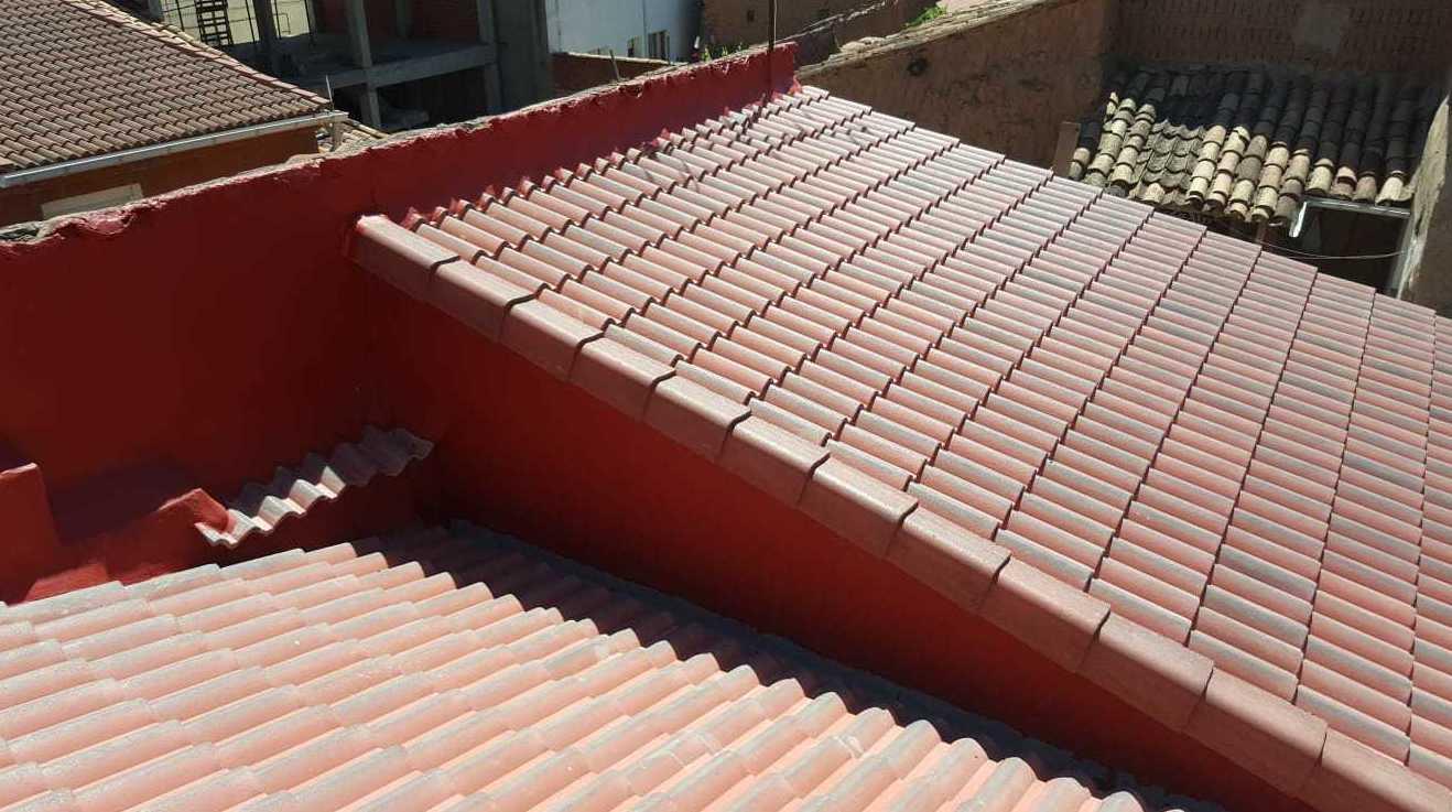 Terminado de tejado en La Rioja