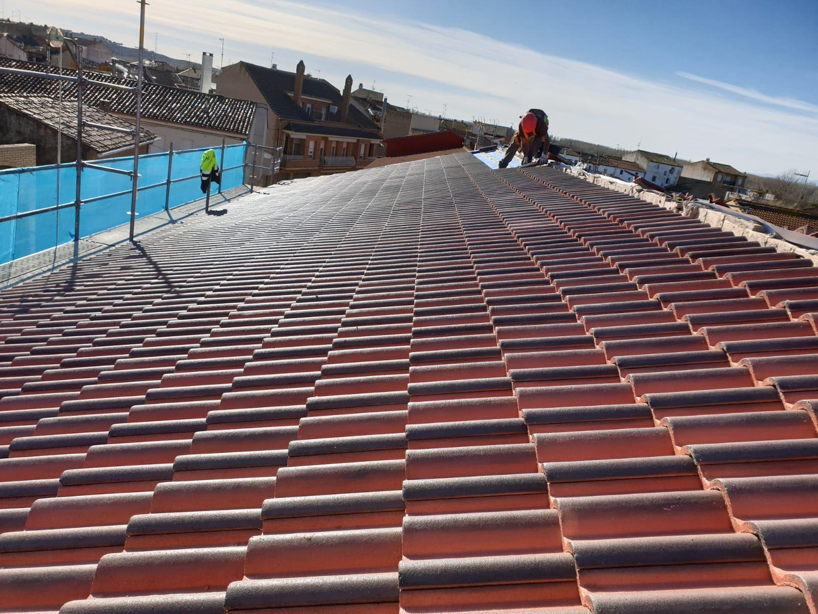Reformas de tejados y trabajos verticales en Soria