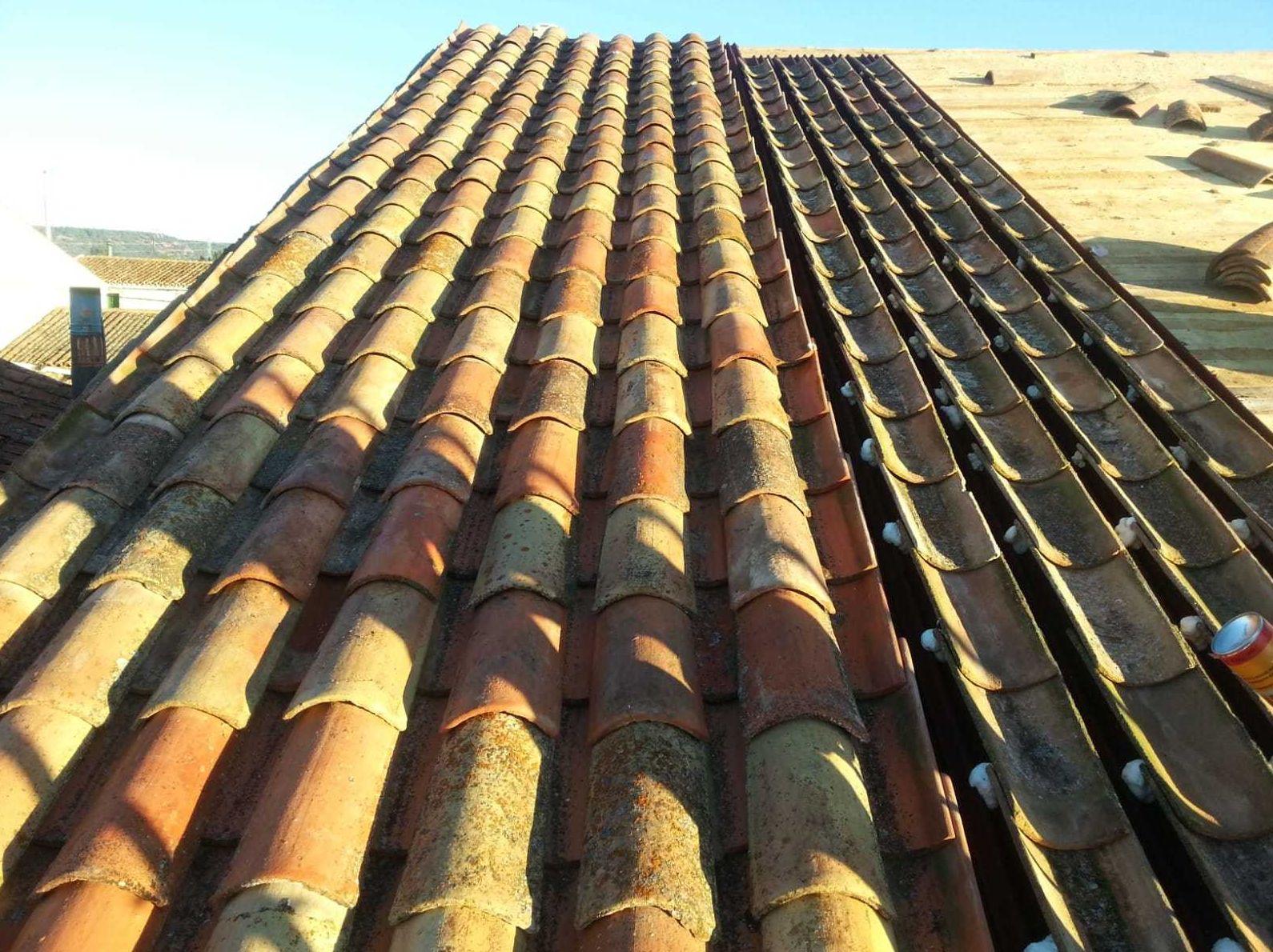 Reparación cubiertas La Rioja