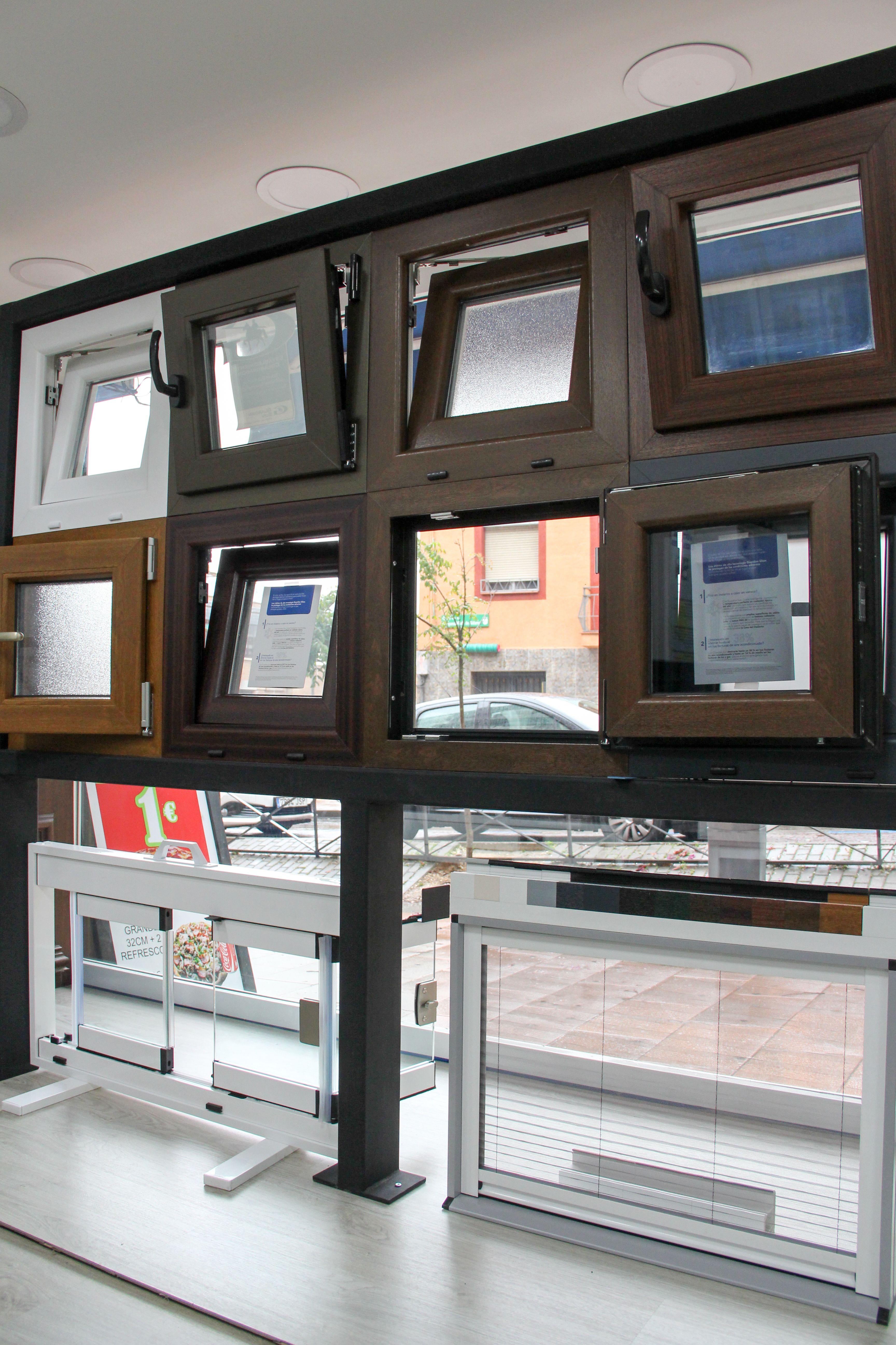 Expositor de ventanas