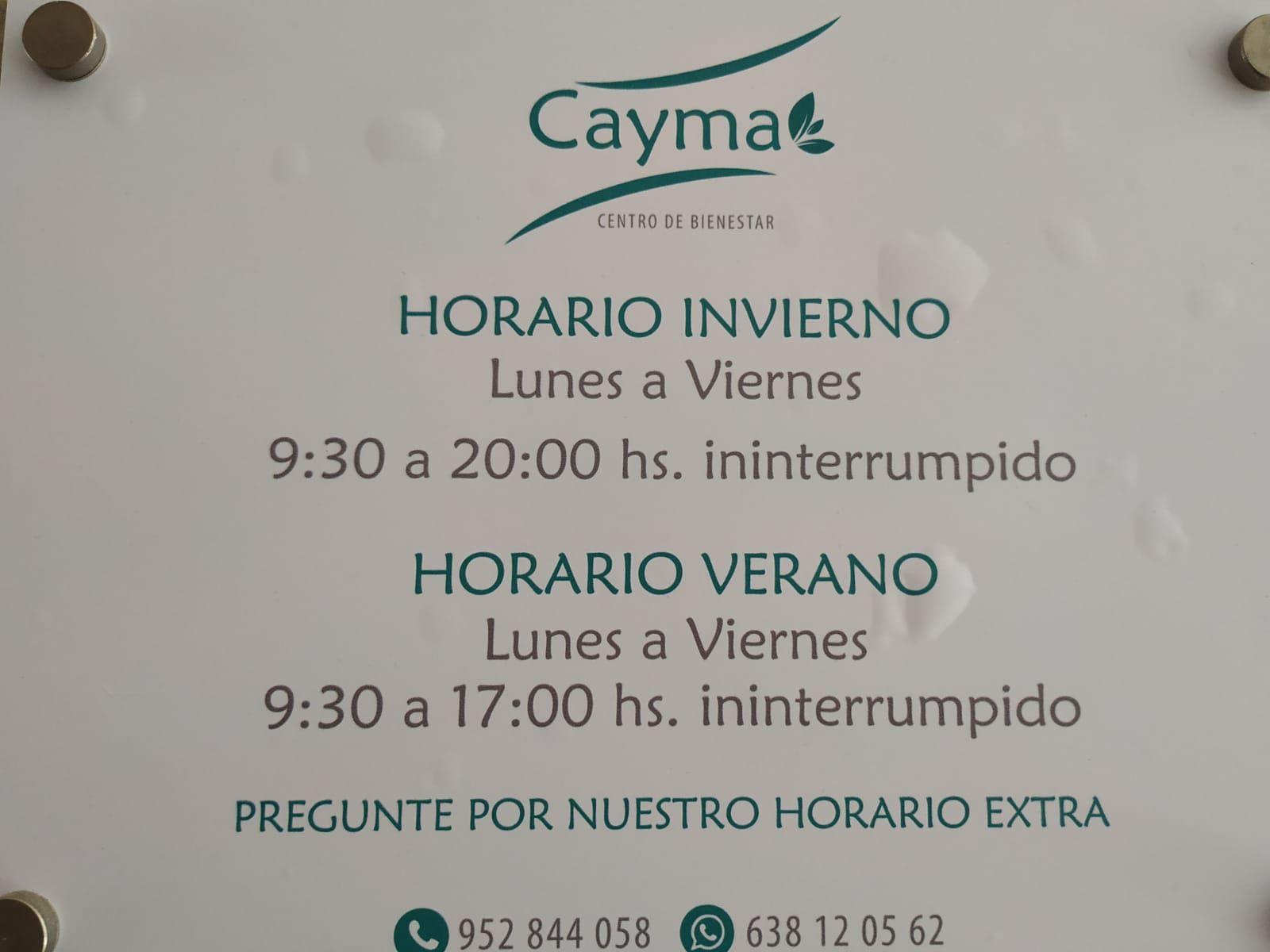 Foto 28 de Centro de bienestar y salud en Antequera | Centro Bienestar y Salud Cayma