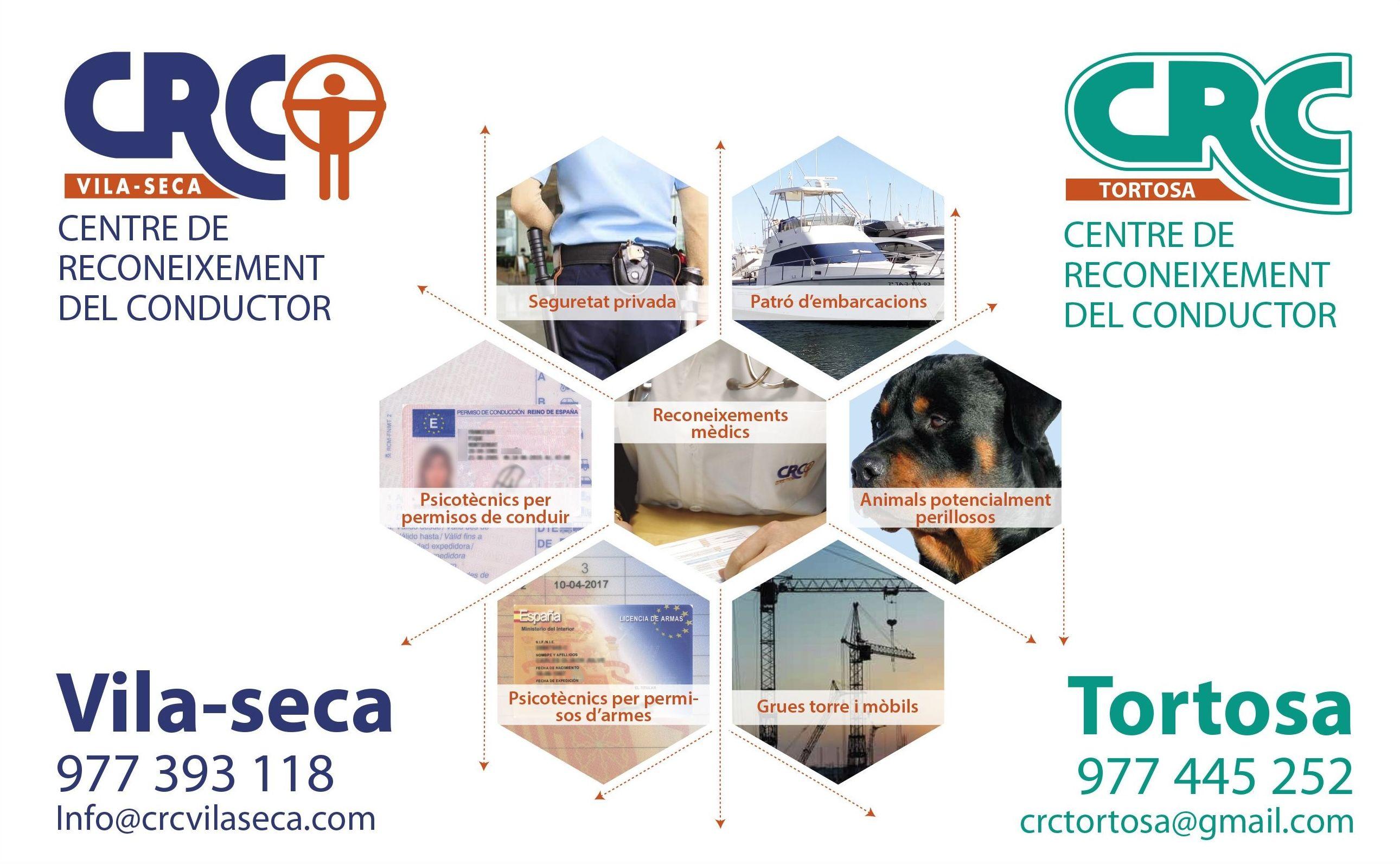 Foto 13 de Reconocimientos y certificados médicos en Vila-seca | CENTRE DE RECONEIXEMENT DEL CONDUCTOR DE VILA-SECA