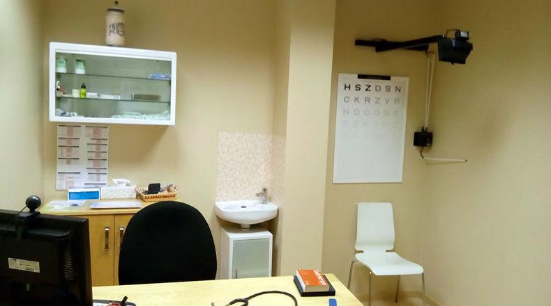 Consulta del centro médico