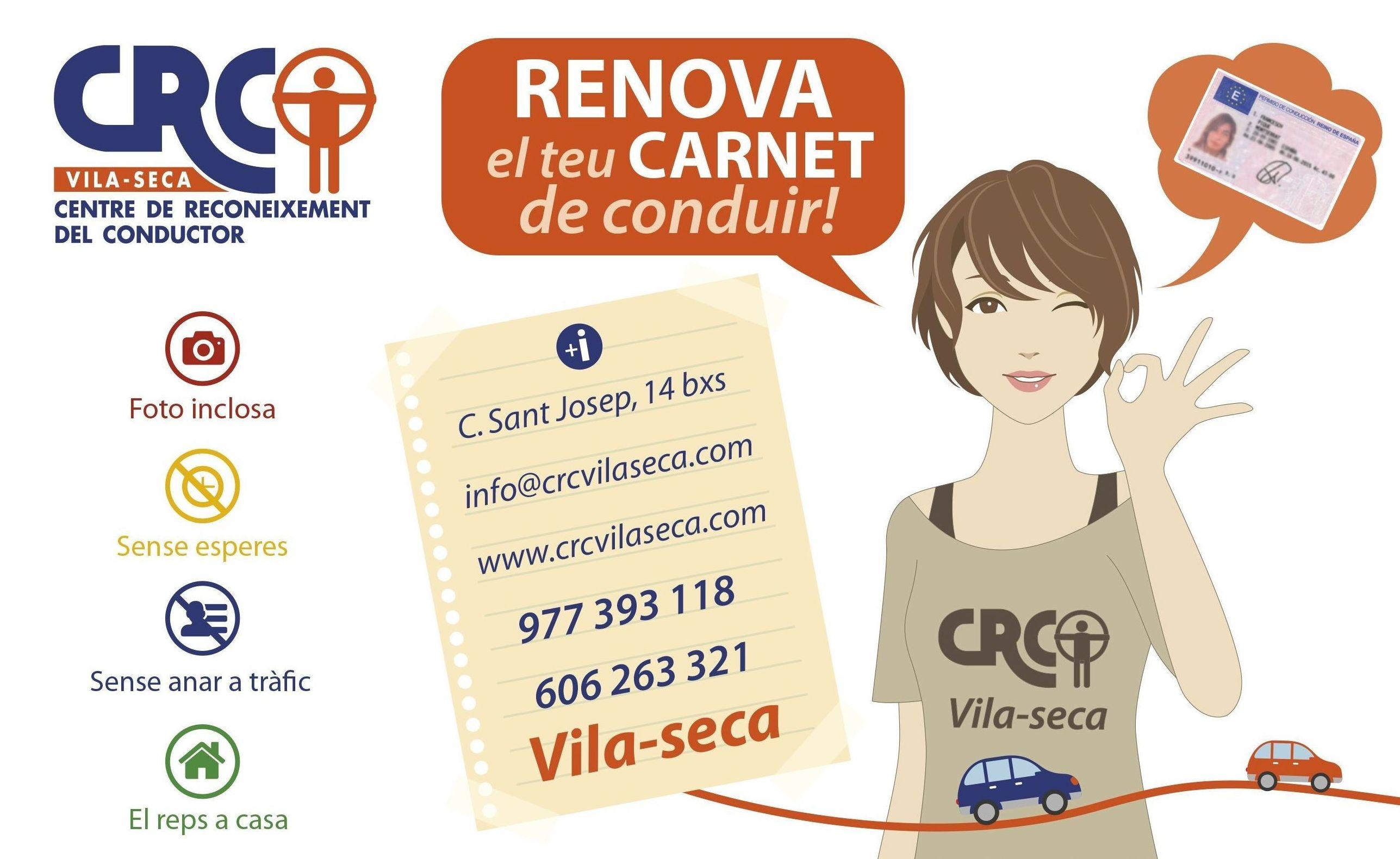 Foto 14 de Reconocimientos y certificados médicos en Vila-seca | CENTRE DE RECONEIXEMENT DEL CONDUCTOR DE VILA-SECA