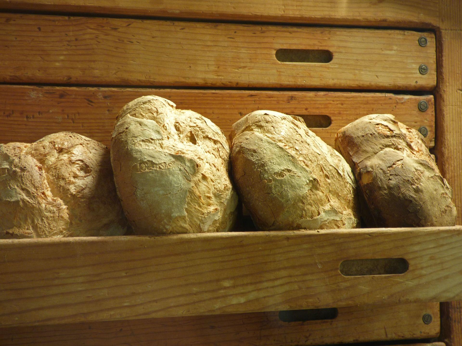 Venta de panes de fabricación propia