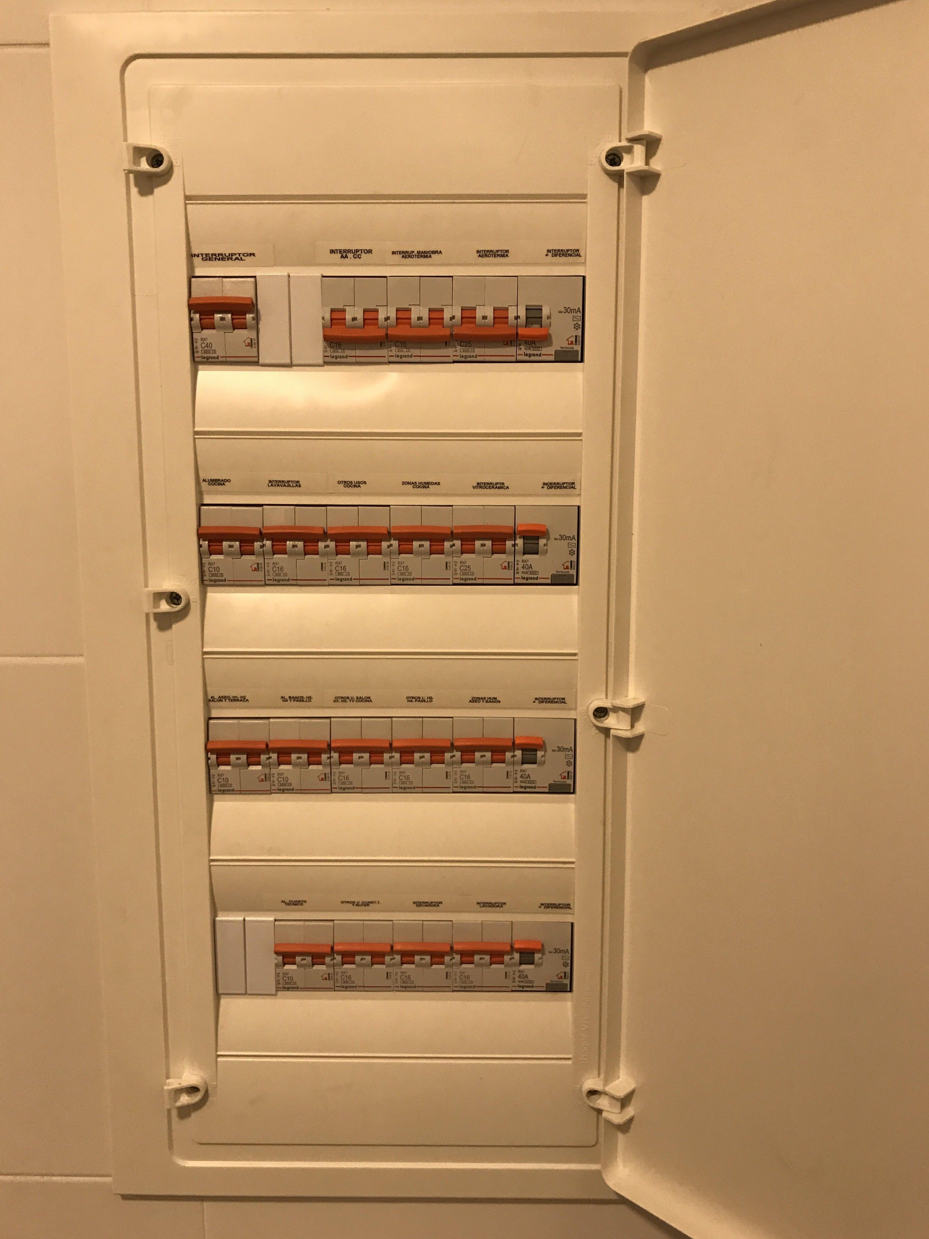 Instalaciones eléctricas: Servicios de Electricidad Adoza