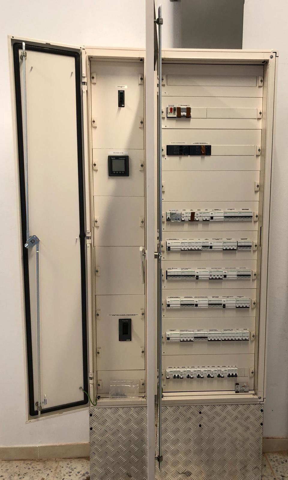 Instalación de cuadro de electricidad en Zamora