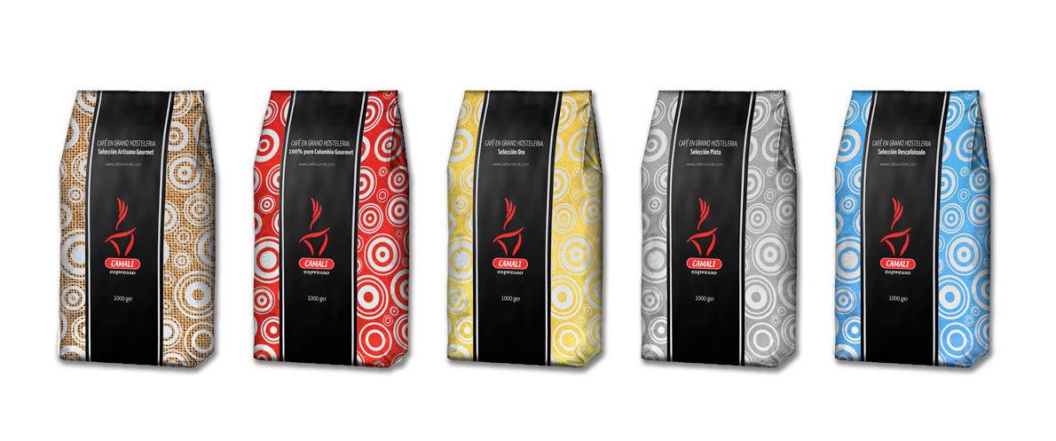 Gama de bolsas de café en grano para hostelería: Productos de Sur Vending Coffee