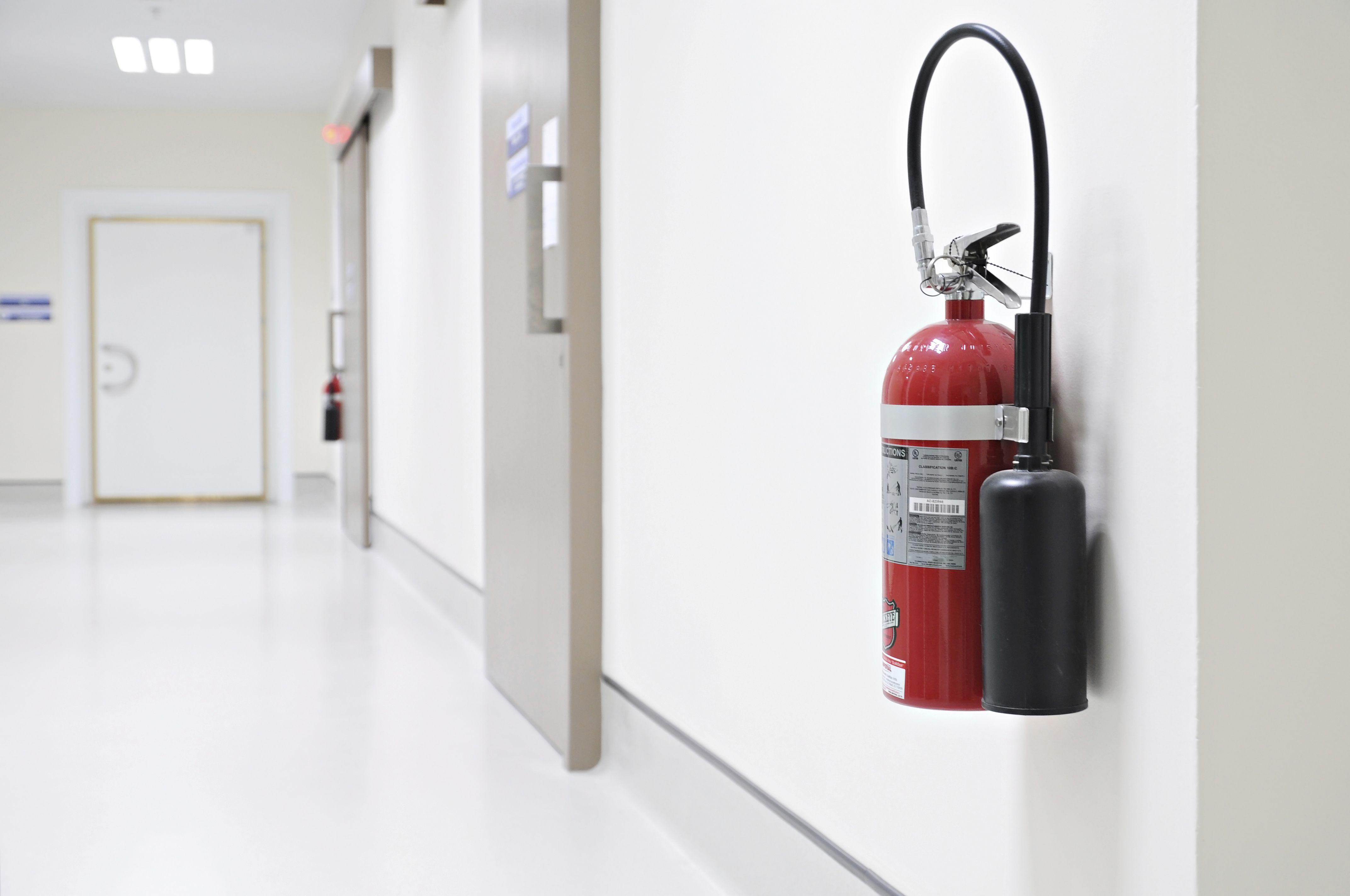 Instalación de extintores en Madrid