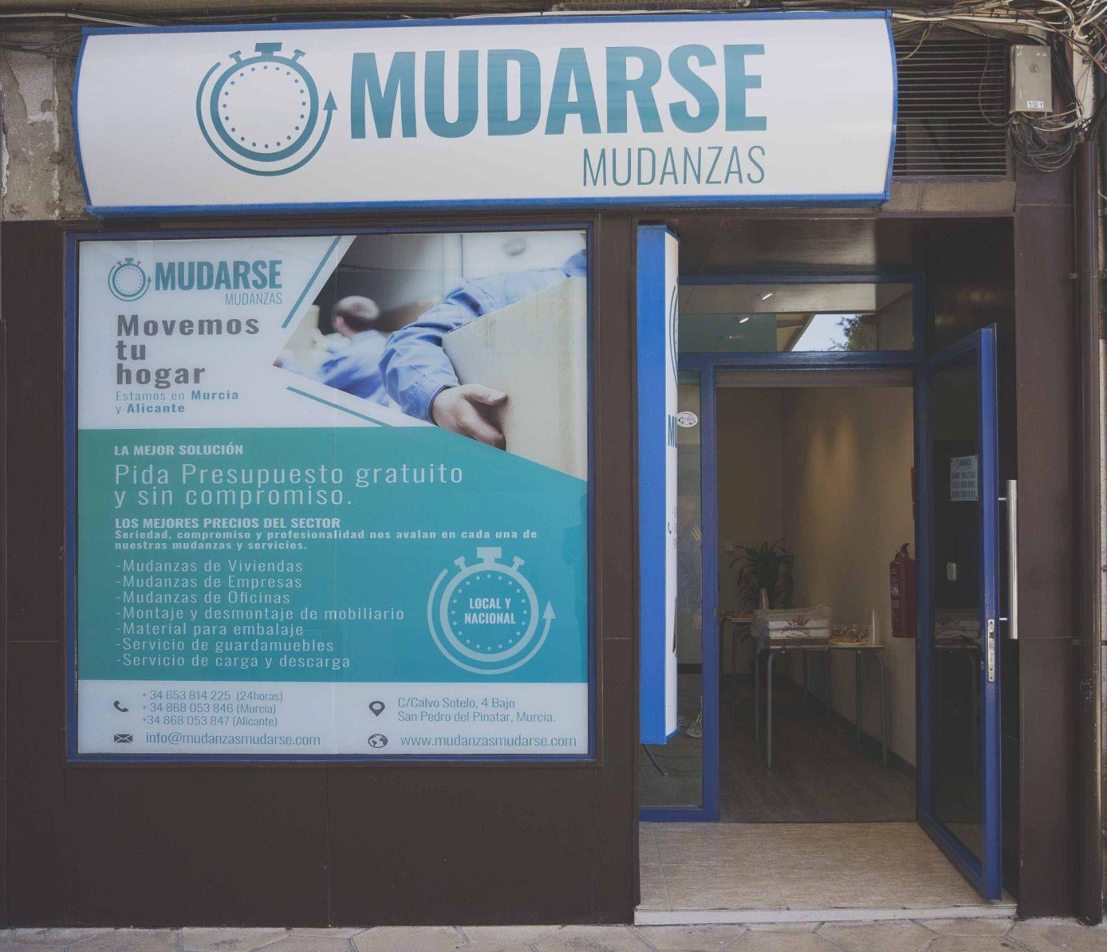 Empresa de mudanzas y servicio de guardamuebles en Murcia