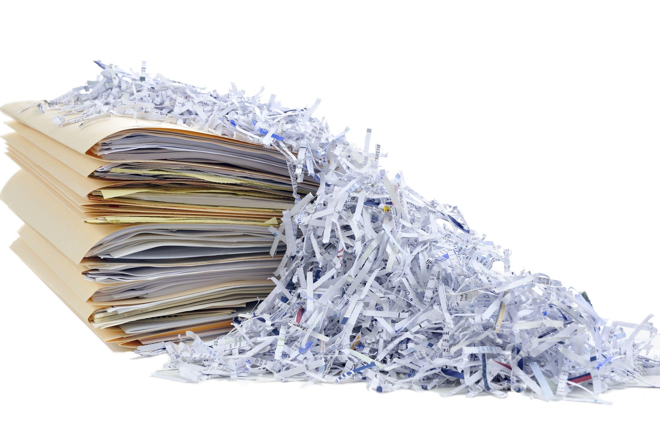 Destrucción de documentos confidenciales en Málaga