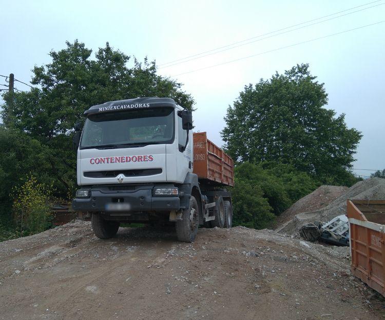 Transporte de residuos en Asturias