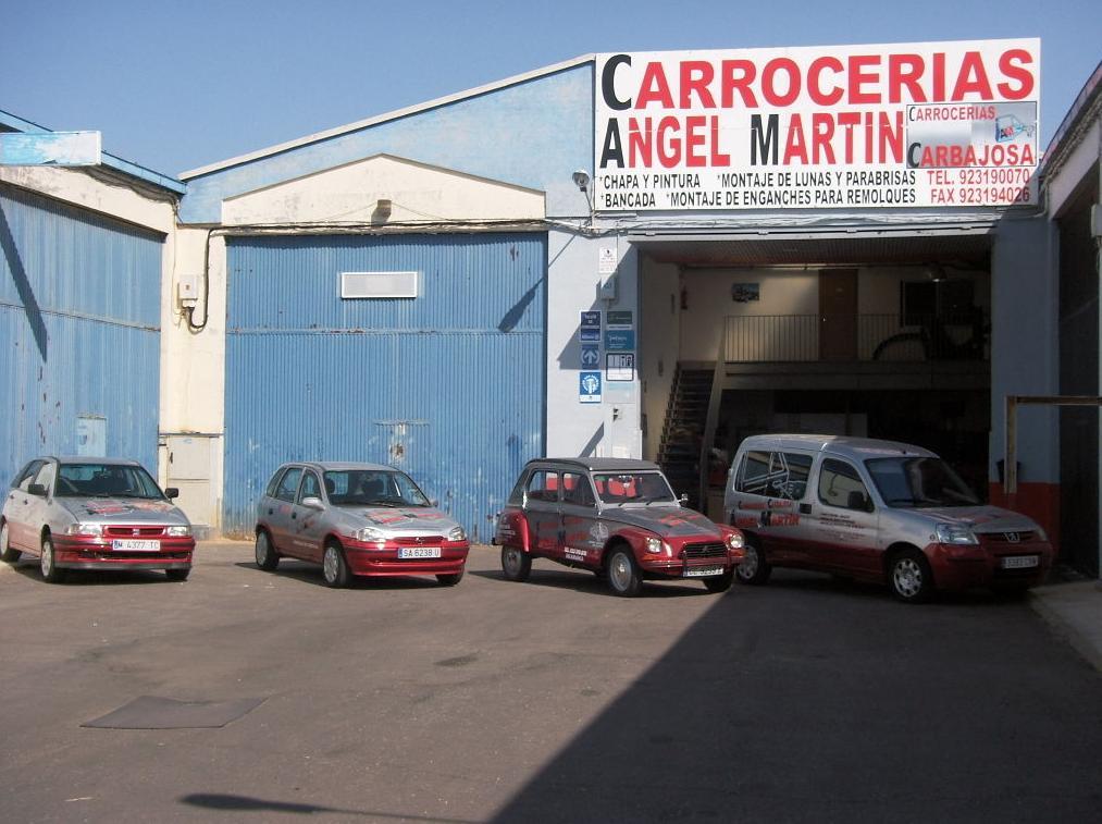 Foto 8 de Talleres de chapa y pintura en Salamanca | Carrocerías Carbajosa (Ángel Martín)