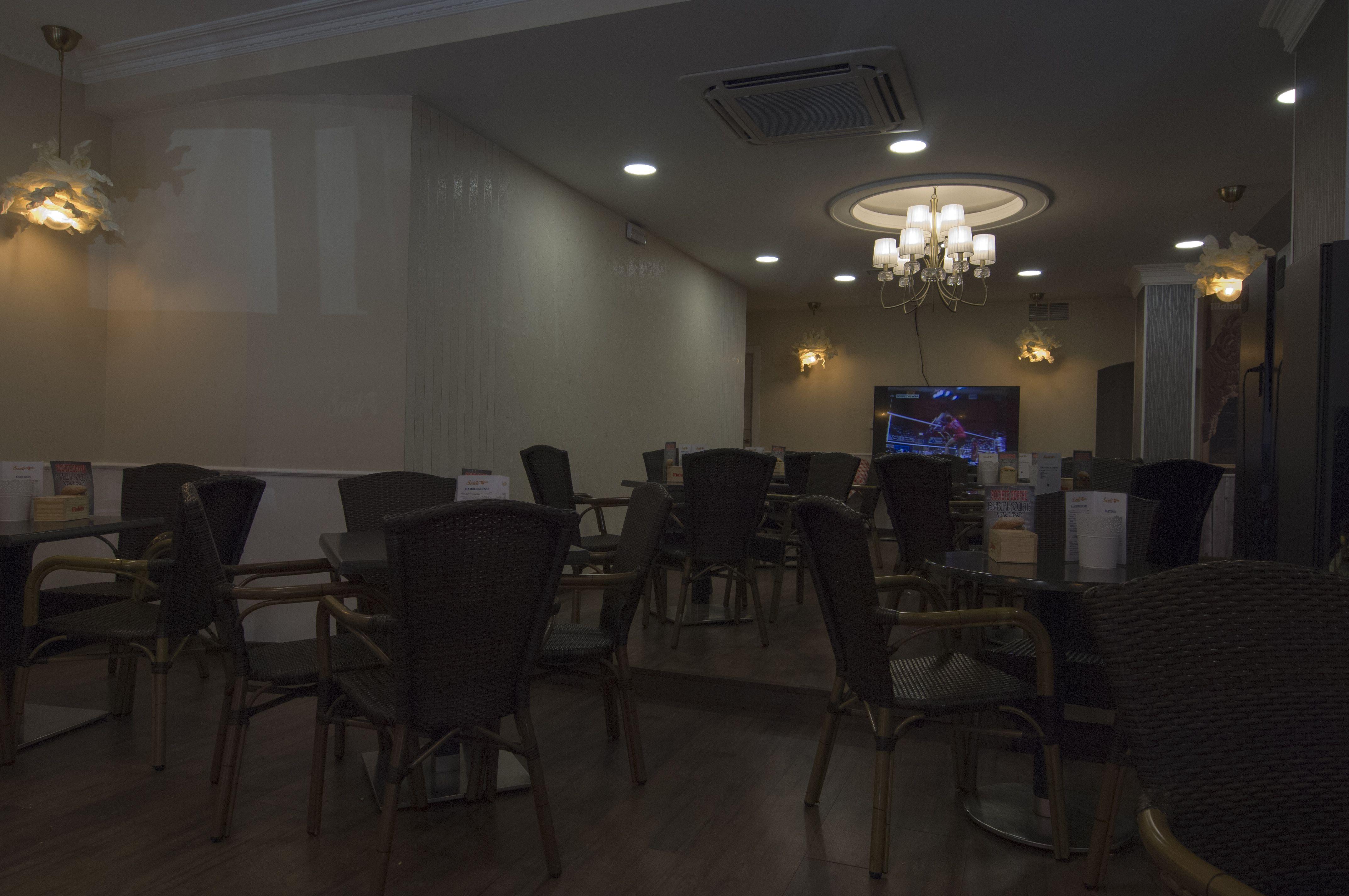 Mesas cafetería